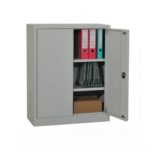Armoire portes battantes basse H100 L80 P38 cm