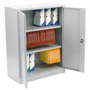 Armoire porte-battante BOX-IT, Monobloc, H120, L92, P42 cm