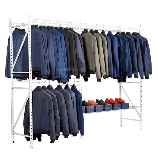 Rayonnage pour vêtements 150kg