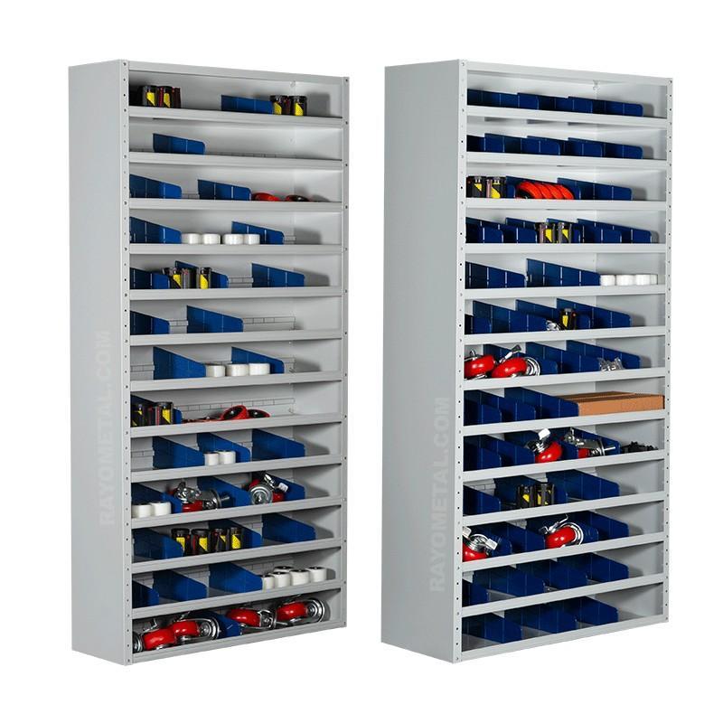 Armoire de rangement d'atelier en profondeur 300 mm ou 400 mm au choix
