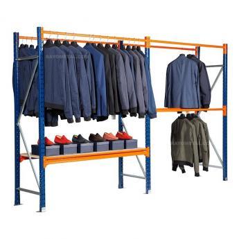 Rayonnages vêtements